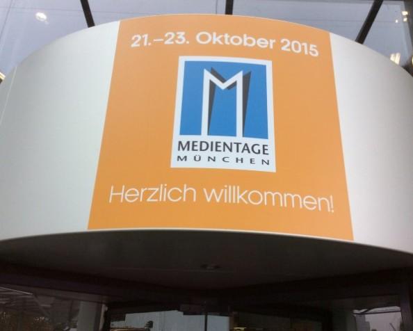 Grüße von den Medientagen 2015 inMünchen