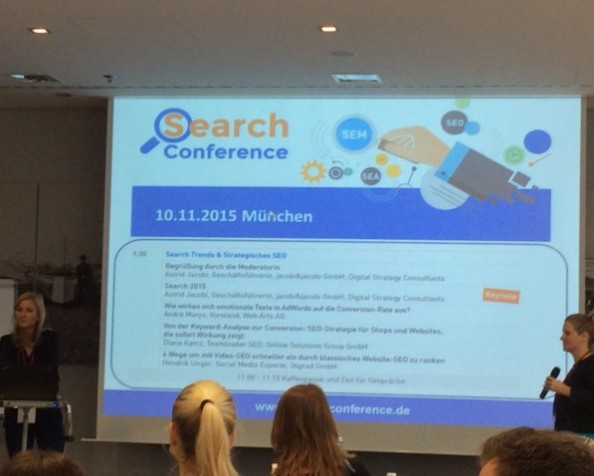#OlisFeedbackCorner: Search Conference 2015 in München