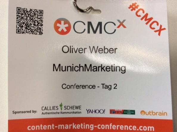 Greetings von derCMCX…