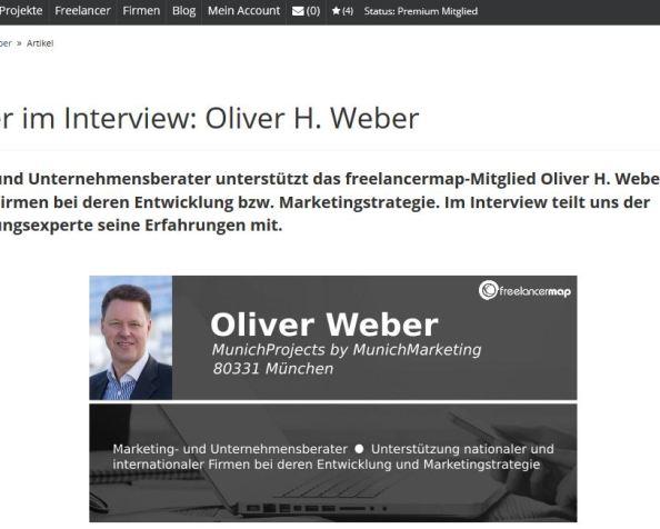 Zum Interview bitte…